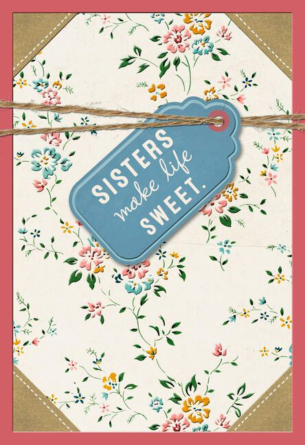No One Compares To You Birthday Card For Sister Greeting Cards