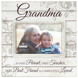 malden grandma completely loved sunwashed wood photo frame 4x6 large