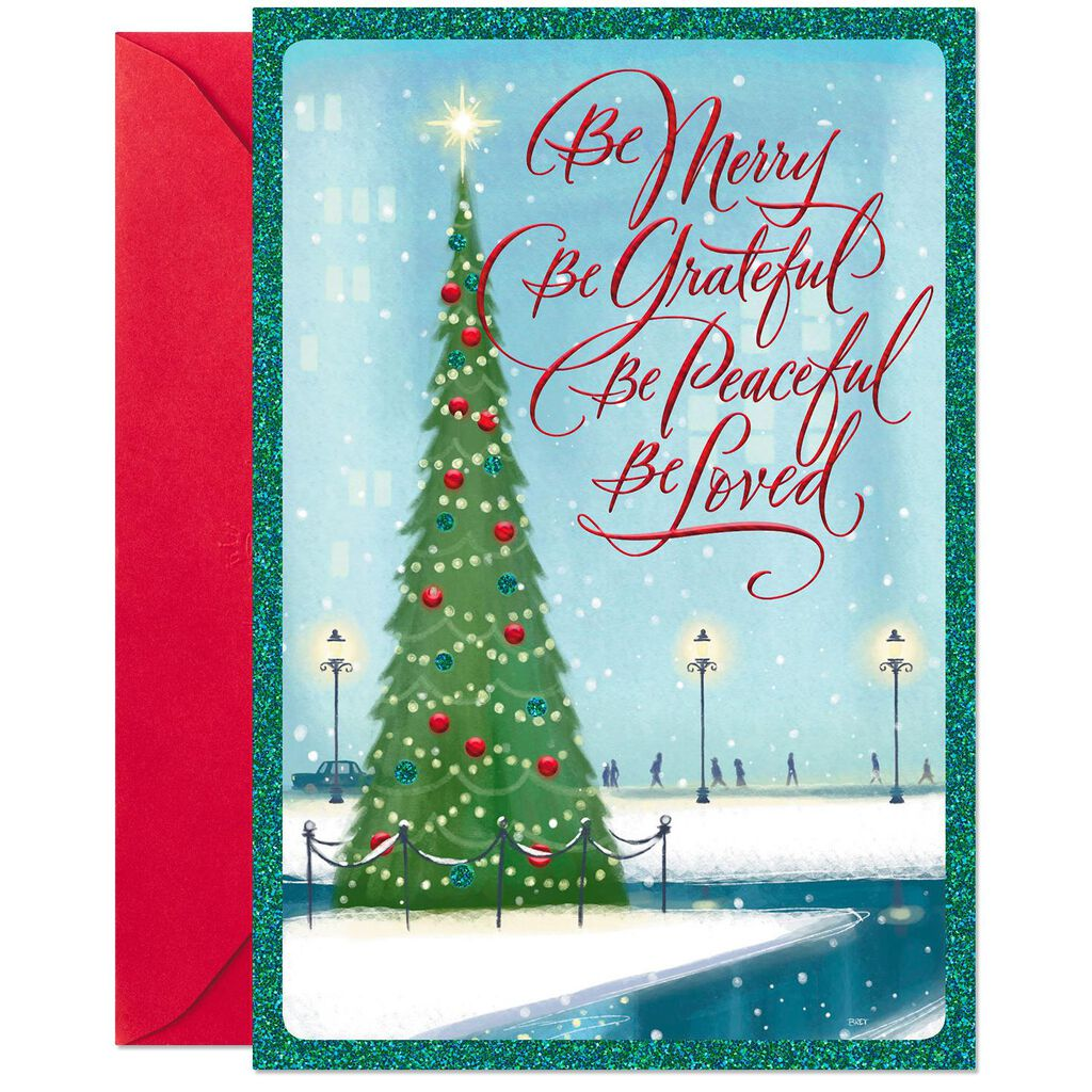 Blessed With God\'s Best Gifts Christmas Card - Greeting Cards - Hallmark