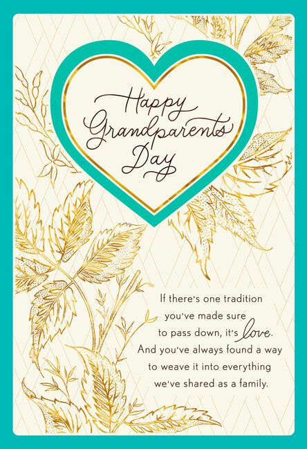 Your loving tradition grandparents day card greeting cards hallmark your loving tradition grandparents day card m4hsunfo