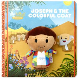 itty bittys® Joseph and the Coat of Many Colors Storybook and Stuffed Animal Set, , large