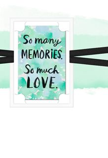 So Many Memories  Sympathy Card,