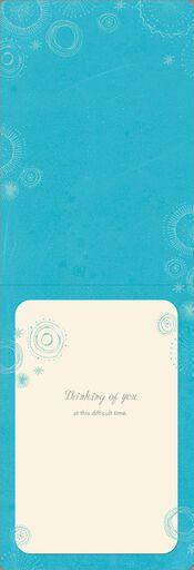 Love Sees Us Through Sympathy Card,