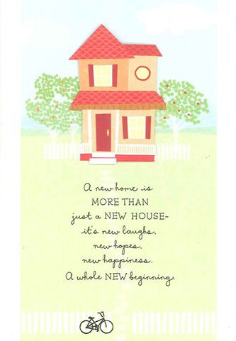 Hopes happiness new home congratulations card greeting cards hopes happiness new home congratulations card m4hsunfo Choice Image