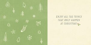 It's Beginning to Look a Lot Like Christmas Song Card