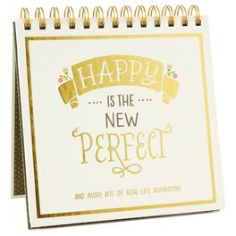Happy Is the New Perfect Book, , large