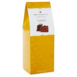 6.5 oz. Milk Chocolate-covered Caramels in Gift Box, , large