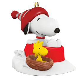 PEANUTS® Winter Fun With SNOOPY® Mini Ornament, , large
