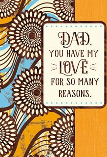 Special Place in My Heart Father's Day Card,