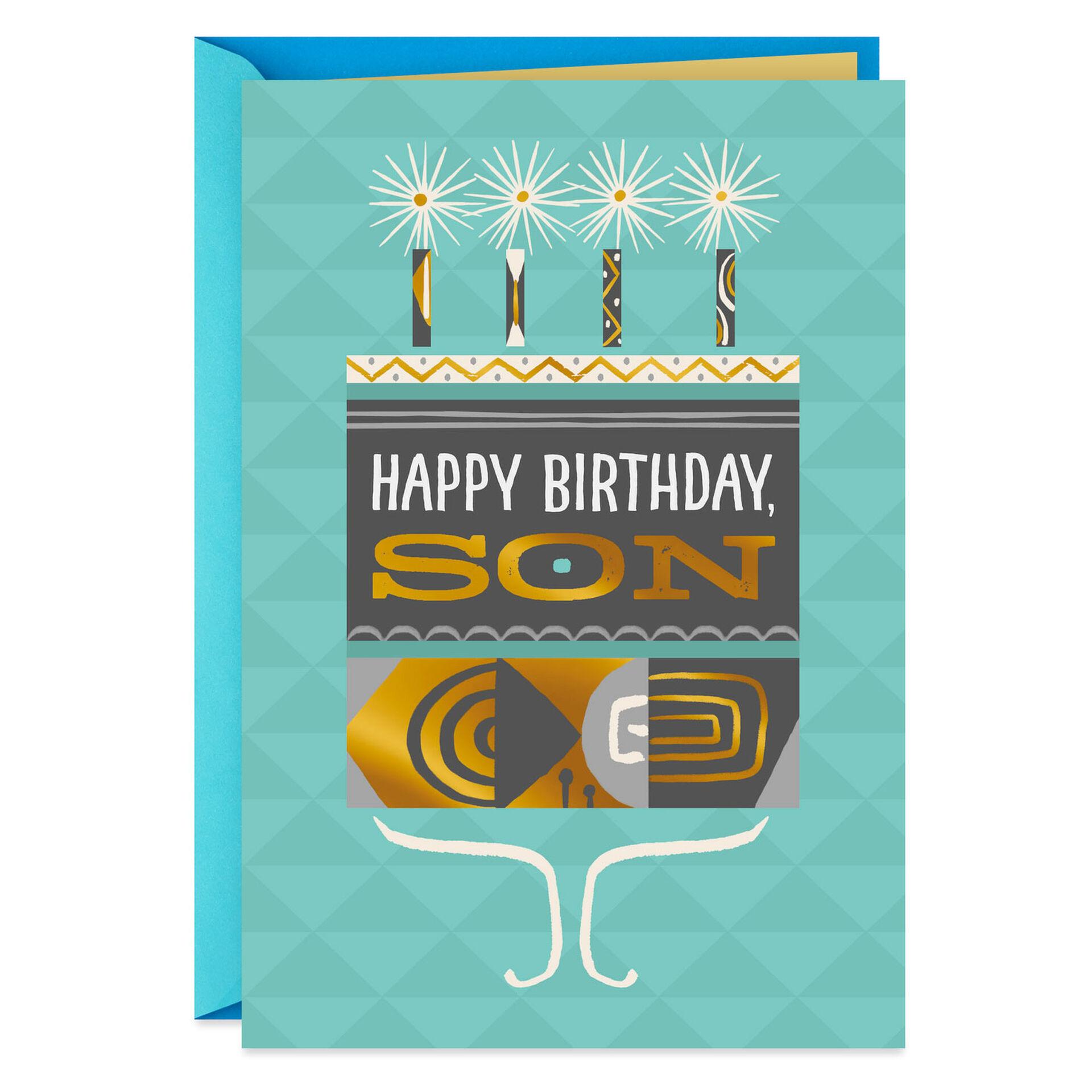 New Hallmark Happy Birthday To Son In Law Greeting Card