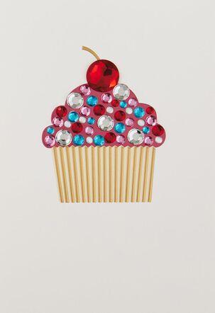 Fancy Cupcake Blank Card