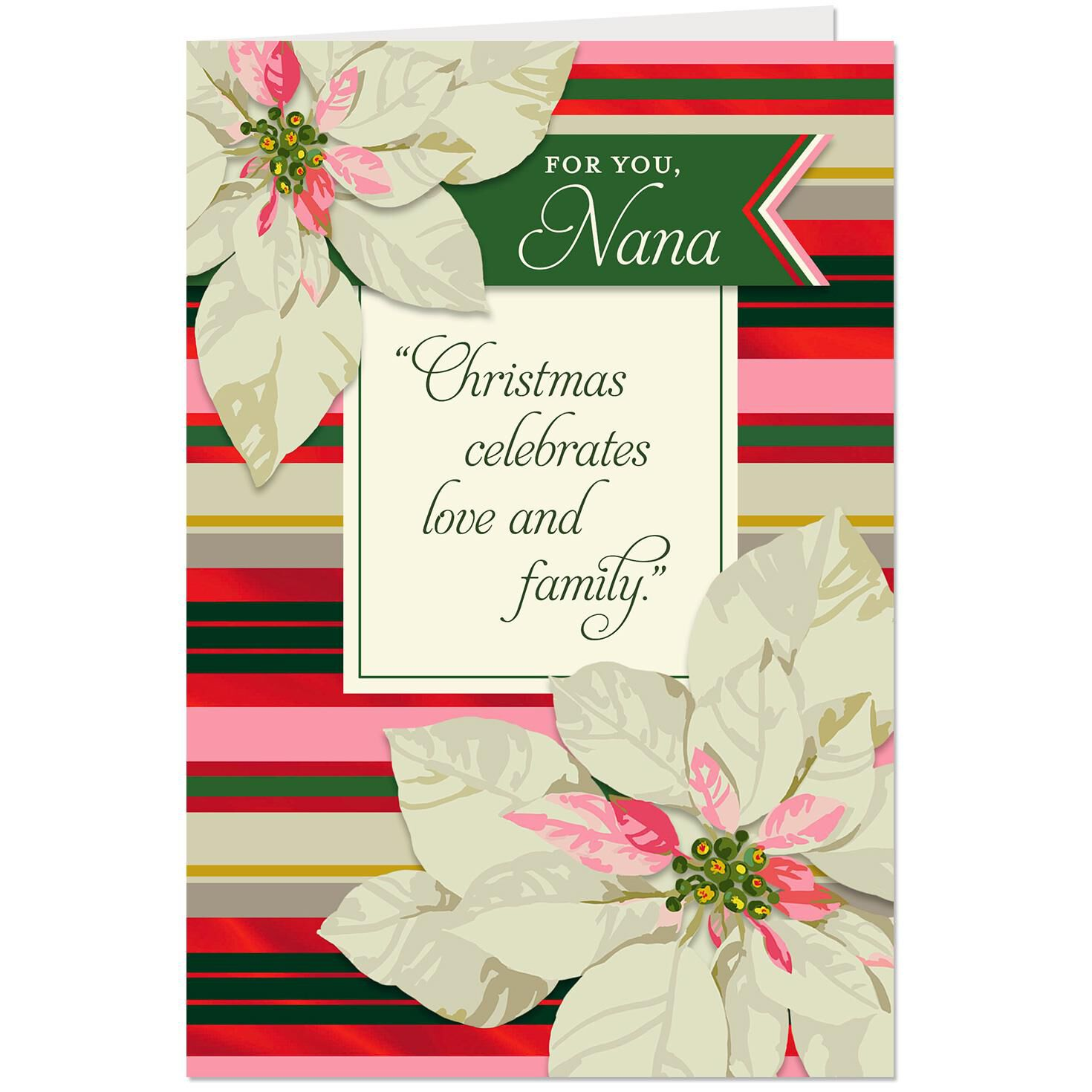 Blessed to have you christmas card for nana greeting cards hallmark m4hsunfo