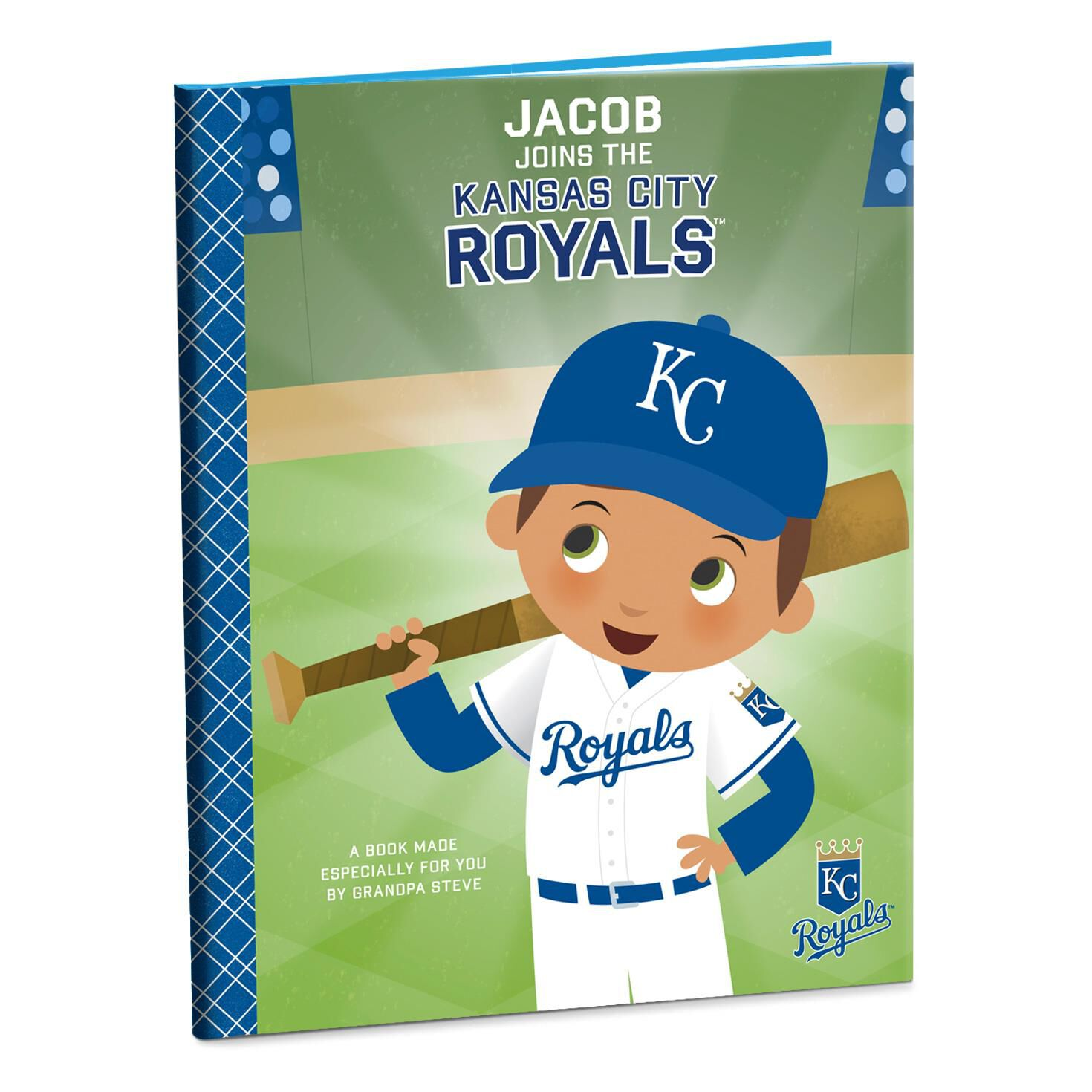 Kansas city royals personalized book personalized books hallmark negle Choice Image