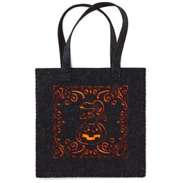 Peanuts® Snoopy Halloween Fabric Tote Bag, , large