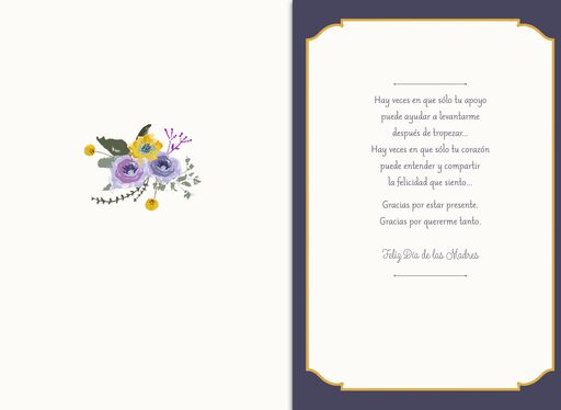 Always There Musical Spanish-Language Mother's Day Card,