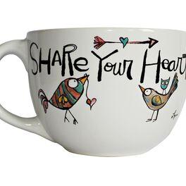 Share Your Heart Mug, 24 oz., , large
