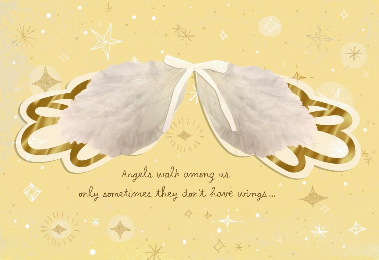 Angel Wings Mother\'s Day Card - Hallmark
