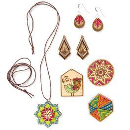 Jewelry Wooden Art Kit, , large