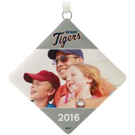 Detroit Tigers™ Ceramic Personalized Ornament, Diamond-Shaped, , large
