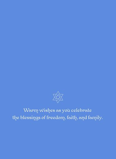 Thinking of You Passover Card,