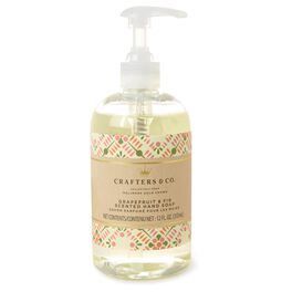 Grapefruit and Fir Luxury Liquid Soap, , large