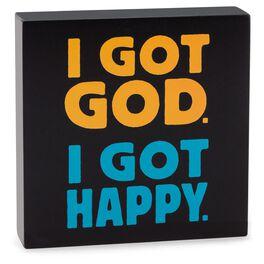 Got God Sentiment Print, , large