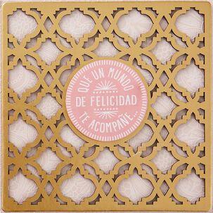 Un Mundo de Felicidad Spanish Language Birthday Card