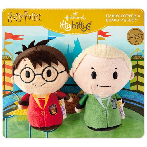 57aa8dd56eb1 ... itty bittys® Harry Potter™ Quidditch™ Pair Harry™ and Draco™ Stuffed  Animals