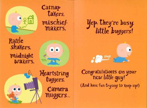 Baby Boys Are... Congratulations Card,