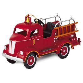 1945 Gillham Fire Engine Keepsake Ornament, , large
