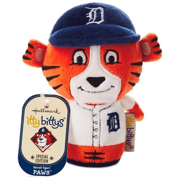 MLB Detroit Tigers™ Paws™ itty bittys® Stuffed Animal Special ...