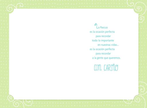 Easter Blessings Spanish-Language Easter Card,