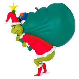 Dr. Seuss You're a Mean One, Mr. Grinch Musical Ornament, , large
