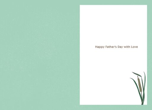 Mountain Lake Father's Day Card for Nephew,