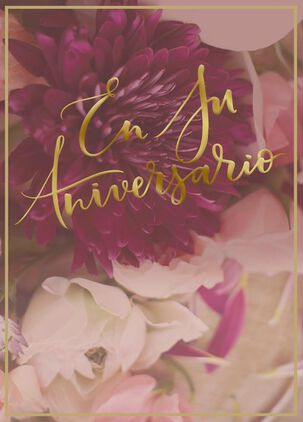 A Loving Look Back Spanish-Language Anniversary Card