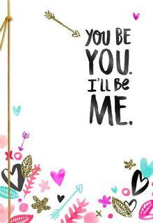 Perfect Us Valentine's Card,