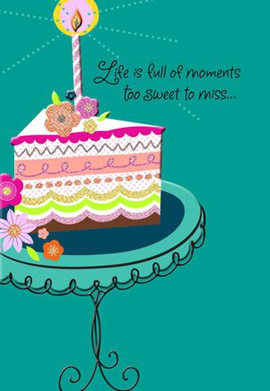 Sweet Moments Friendship Birthday Card