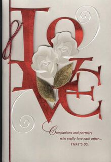 Together Forever People Valentine's Card,