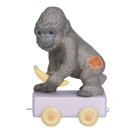 Precious Moments® It's Your Birthday Go Bananas Gorilla  Figurine, Age 15, , large