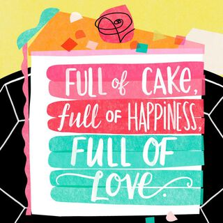 Full of Goodness Musical Birthday Card,