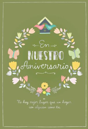 Someone Like You Spanish-Language Anniversary Card