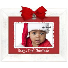 Baby's First Christmas 2016 Malden 4x6 Picture Frame, , large