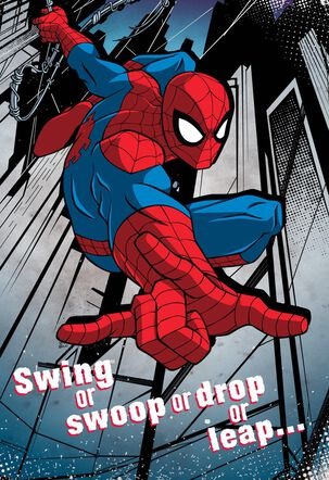 Spider-Man All Kinds of Amazing Musical Birthday Card