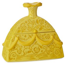 Beauty and the Beast Belle Dress-Shaped Treasure Box, , large