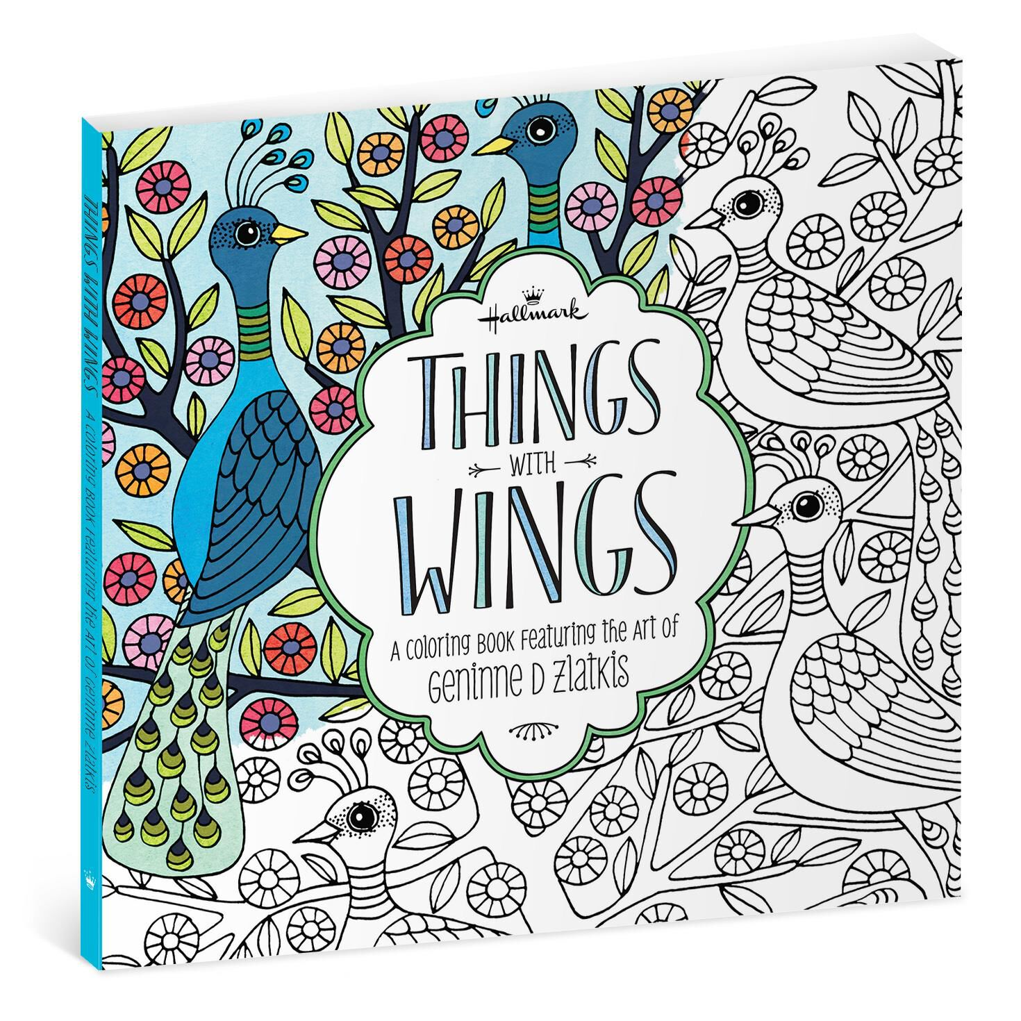 Things With Wings The Art of Geninne Zlatkis Coloring Book