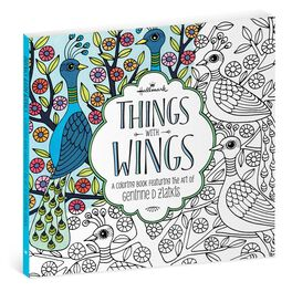 Things With Wings: The Art of Geninne Zlatkis Coloring Book, , large