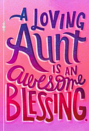 You Are a Blessing Mother's Day Card for an Aunt