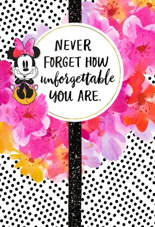 Disney Minnie Mouse Unforgettable Birthday Card For Daughter