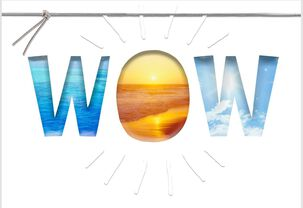 Sunrise Wow Congratulations Card