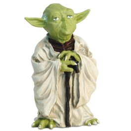 Yoda Bring You Wisdom I Will Book and Figurine, , large